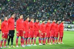 FC Steaua Bucarest - FC Copenhaga Immagine Stock