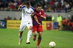 FC Steaua Bucarest - FC Copenhaga Imagen de archivo