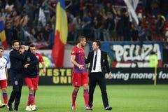 FC Steaua Bucarest - FC Copenhaga Photo libre de droits