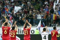 FC Steaua Bucarest - FC Copenhaga Images libres de droits