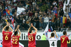 FC Steaua Bucarest - FC Copenhaga Immagini Stock Libere da Diritti