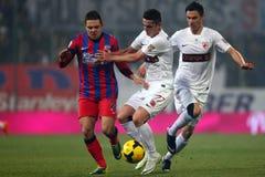 FC Steaua Bucarest - FC Dinamo Bucarest Fotografía de archivo