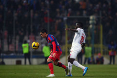 FC Steaua Bucarest - FC Dinamo Bucarest Immagine Stock