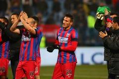 FC Steaua Bucarest - FC Dinamo Bucarest photos libres de droits