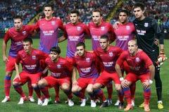 FC Steaua Bucarest - FC Ekranas Fotografia Stock
