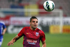 FC Steaua Bucarest - FC Ekranas Foto de archivo