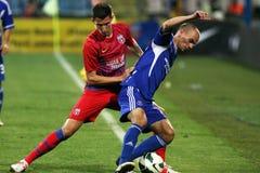 FC Steaua Bucarest - FC Ekranas immagini stock