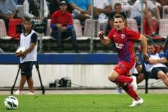 FC Steaua Bucarest - FC Ekranas Imagenes de archivo
