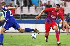 FC Steaua Bucarest - FC Ekranas Immagine Stock