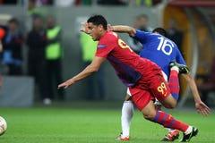 FC Steaua Bucarest - FC Molde Immagini Stock Libere da Diritti