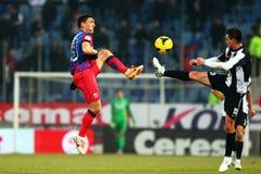 FC Steaua Bucarest - U Cluj Fotos de archivo