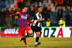 FC Steaua Bucarest - U Cluj Imágenes de archivo libres de regalías