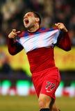 FC Steaua Bucarest - U Cluj Imagenes de archivo