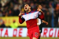 FC Steaua Bucarest - U Cluj Fotografía de archivo libre de regalías