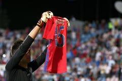 FC Steaua Bucareste - FC Ekranas Imagens de Stock Royalty Free