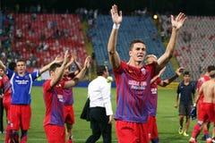 FC Steaua Bucareste - FC Ekranas Fotografia de Stock