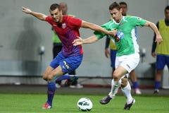 FC Steaua Bucharest - CFR Cluj Royalty Free Stock Photos
