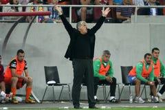 FC Steaua Bucharest - CFR Cluj Royalty Free Stock Photo