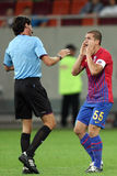 FC Steaua Bucharest - CFR Cluj Royalty Free Stock Photography