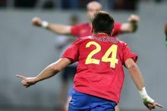 FC Steaua Bucharest - CFR Cluj Stock Image