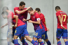 FC Steaua Bucharest - CFR Cluj Stock Images