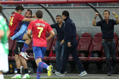 FC Steaua Bucharest - CFR Cluj Stock Photography