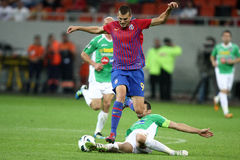 FC Steaua Bucharest - CFR Cluj Royalty Free Stock Images