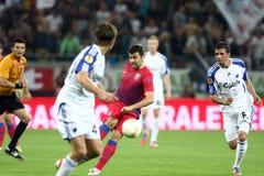 FC Steaua Bucharest - FC Copenhaga Royalty Free Stock Photo