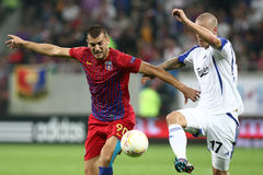 FC Steaua Bucharest - FC Copenhaga Stock Images
