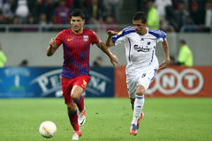 FC Steaua Bucharest - FC Copenhaga Stock Photos