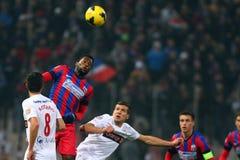 FC Steaua Bucharest - FC Dinamo Bucharest fotografia royalty free