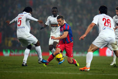 FC Steaua Bucharest - FC Dinamo Bucharest Royalty Free Stock Image