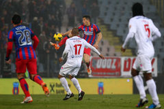 FC Steaua Bucharest - FC Dinamo Bucharest Royalty Free Stock Photography