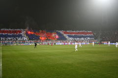 FC Steaua Bucharest - FC Dinamo Bucharest Stock Photos