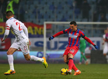 FC Steaua Bucharest - FC Dinamo Bucharest Royalty Free Stock Photo