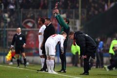 FC Steaua Bucharest - FC Dinamo Bucharest Royalty Free Stock Photo