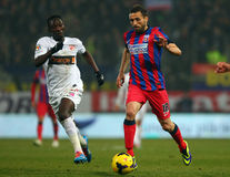 FC Steaua Bucharest - FC Dinamo Bucharest Stock Photo
