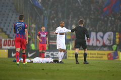 FC Steaua Bucharest - FC Dinamo Bucharest Royalty Free Stock Images