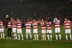 FC Steaua Bucharest - FC Dinamo Bucharest Royalty Free Stock Image