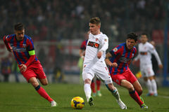 FC Steaua Bucharest - FC Dinamo Bucharest Stock Photography