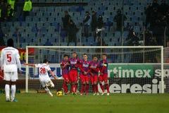 FC Steaua Bucharest - FC Dinamo Bucharest Stock Photo