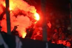 FC Steaua Bucharest - FC Dinamo Bucharest Stock Photography