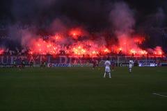 FC Steaua Bucharest - FC Dinamo Bucharest Royalty Free Stock Images