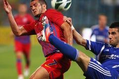 FC Steaua Bucharest - FC Ekranas Stock Image