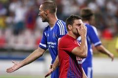 FC Steaua Bucharest - FC Ekranas Royalty Free Stock Photography