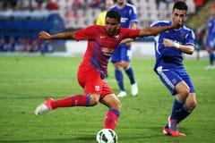 FC Steaua Bucharest - FC Ekranas Zdjęcia Stock