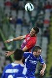 FC Steaua Bucharest - FC Ekranas Stock Images