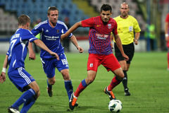 FC Steaua Bucharest - FC Ekranas Royalty Free Stock Images