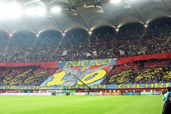 FC Steaua Bucharest - FC Rapid Bucharest Stock Photo