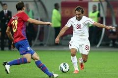 FC Steaua Bucharest - FC Rapid Bucharest Royalty Free Stock Image